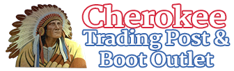 Cherokee Trading Post & Boot Outlet, Logo